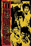 Bruce Lee - State Of Mind Effort 24x36 Poster Martial Art Print by Generic