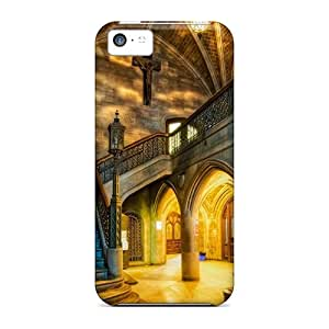 For Iphone 5c Fashion Design Interior Of Church Hdr Cases-JGR42211ioQk