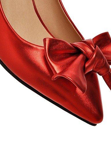 GGX    Damenschuhe-High Heels-Outddor   Büro   Lässig-Kunststoff-Blockabsatz-Absätze-Schwarz   Rosa   Rot   Silber B01KL7AUP6 Sport- & Outdoorschuhe Billig ideal d32b87