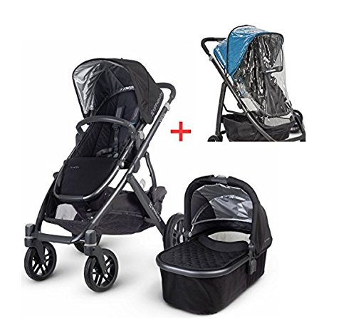 UPPAbaby 2015 Vista Stroller with Universal Stroller Console (Jake Black)