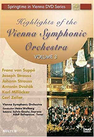 Highlights of the Vienna Symphonic Orchestra Volume 3 / Sylvia Geszty, Adolf Dallapozza by Sylvia Geszty