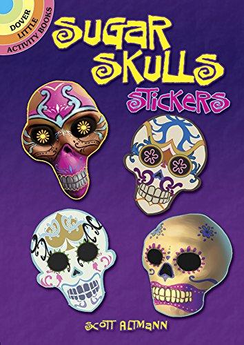Sugar Skulls Stickers (Dover Little Activity Books Stickers)