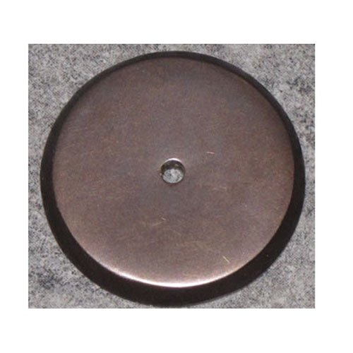 Top Knobs M1467  Aspen Round Back plate Bronze