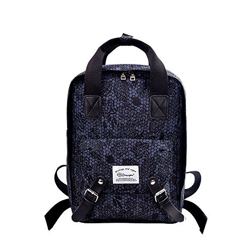 douguyan-floral-backpack-nylon-lightweight-functional-stylish-fashion-travel-hiking-backpack-college