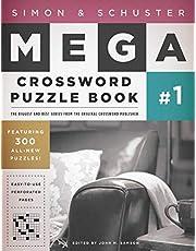 Simon & Schuster Mega Crossword Puzzle Book #1 (Volume 1)