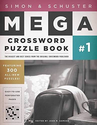 Simon & Schuster Mega Crossword Puzzle Book #1 (S&S Mega Crossword Puzzles) from Fireside Books