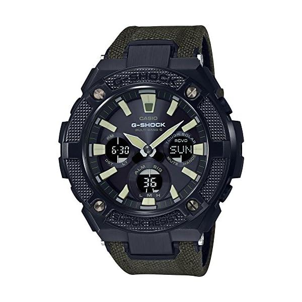 Casio Reloj Analógico para Hombre de Cuarzo con Correa en Plástico GST-W130BC-1A3ER 2
