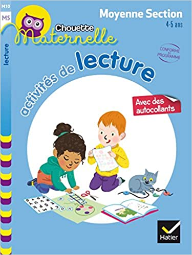 Activités de lecture Maternelle Moyenne Section 4-5 ans ...