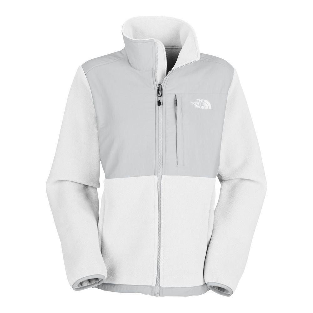 f537ec28b Amazon.com : The North Face Denali Jacket Women's Recycled TNF White ...