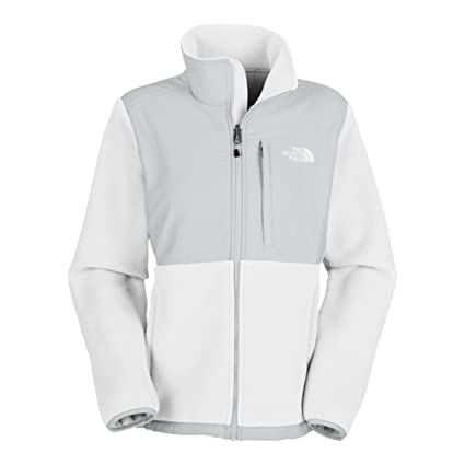894b60b51 Amazon.com : The North Face Denali Jacket Women's Recycled TNF White ...