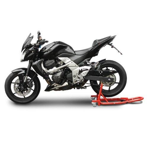 Motorrad Montagest/änder f/ür KTM RC 125 Rot Hinten Rangierhilfe Hinterrad-St/änder Heber ConStands Mover II Universal