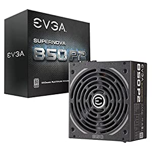 EVGA SuperNOVA 850 P2, 80+ PLATINUM 850W, Fully Modular, EVGA ECO Mode, 10 Year Warranty, Includes FREE Power On Self Tester, Power Supply 220-P2-0850-X1