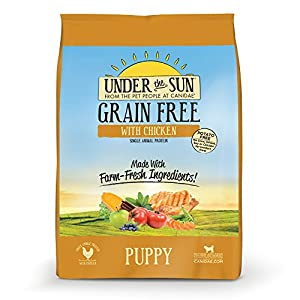 CANIDAE Under the Sun Grain Free Puppy Food with Chicken, 25 lb