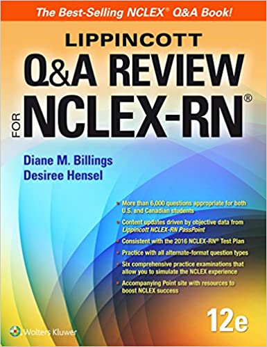 Lippincott qa review for nclex rn lippioncotts review for nclex lippincott qa review for nclex rn lippioncotts review for nclex rn twelfth edition fandeluxe Image collections