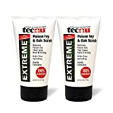 Tecnu Extreme Poison Ivy & Oak Scrub—Removes Toxin from Skin That Causes Poison Ivy and Poison Oak Rash, 4-Ounce Tube, (Pack of 2)