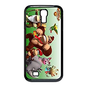 Donkey Kong Country Returns 3D Samsung Galaxy S4 9500 Cell Phone Case Black 53Go-318460