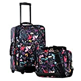 Olympia Let's Travel Carry-On Luggage Set (Butterfly) Review and Comparison