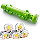 Susimake Sushi Making Kit Premium Bazooka DIY Sushi Rolls Make Easy for Home, Green