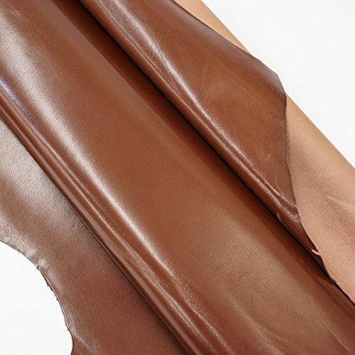 Shrut and Asch Kidskin Leather, Milk Chocolate