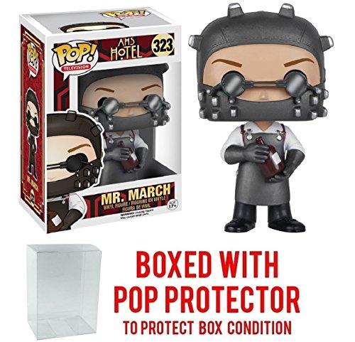 Funko Pop! TV: American Horror Story Hotel - Mr. March Vinyl Figure (Bundled with Pop BOX PROTECTOR - American Elsa Horror
