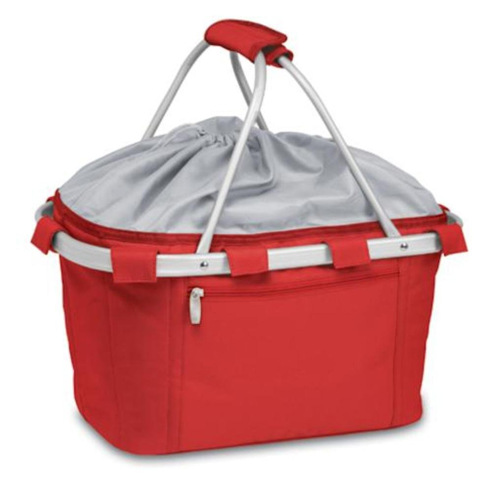 Picnic Time 645-00-100-000-0 Metro Basket Collapsible Tote - Red B00BW0FBM4
