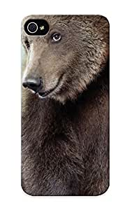 CnwqmZ-156 4.75-AiVWV Premium Animals Humor Funny Smiling Siing Bears Back Cover Snap On Case For Iphone 6 4.7