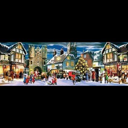 - Christmas Panorama 500pc Jigsaw Puzzle by Kevin Walsh by SunsOut