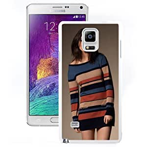 Unique Designed Cover Case For Samsung Galaxy Note 4 N910A N910T N910P N910V N910R4 With Lauren Budd Girl Mobile Wallpaper(13) Phone Case