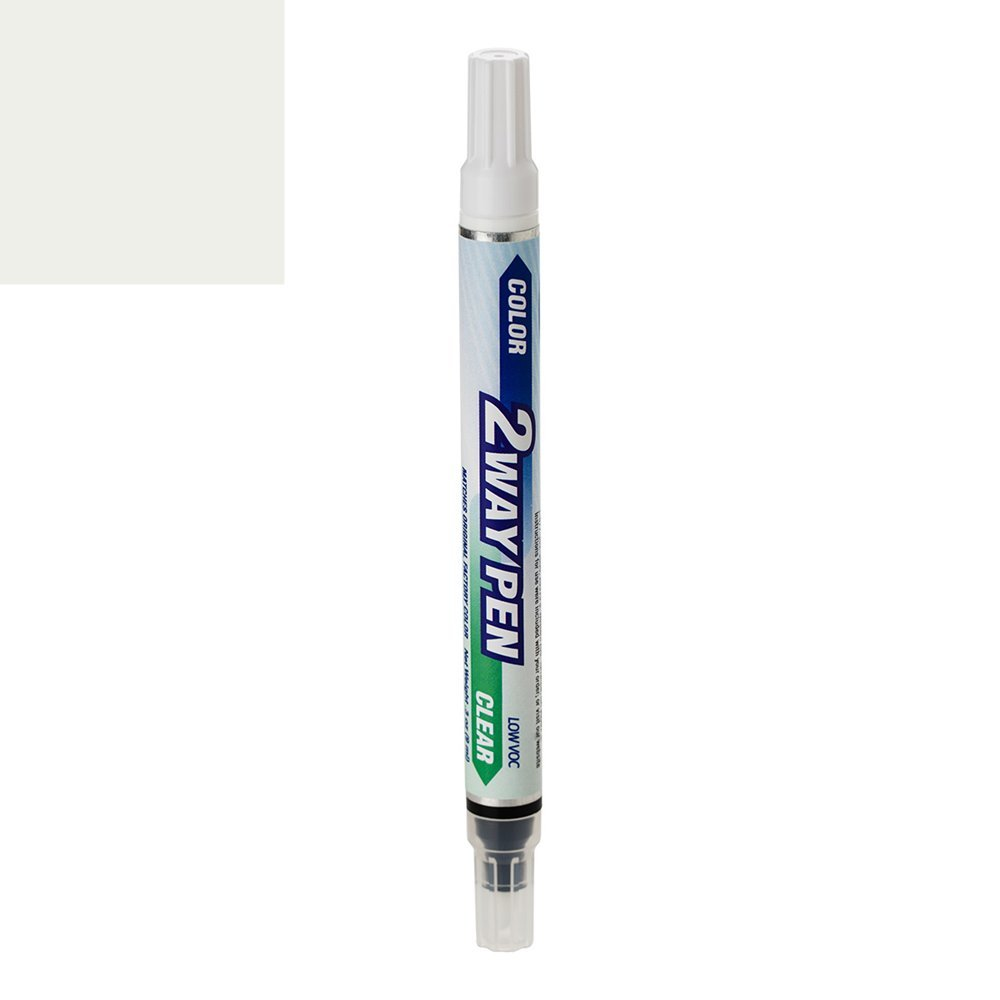 ExpressPaint 2WayPen Chevrolet Impala Automotive Touch-up Paint - Summit White GAZ/WA8624 - Color-and-Clearcoat Package