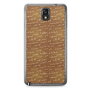 Physics Samsung Note 3 Transparent Edge Case - Design 1