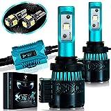 Glowteck LED Headlight Bulbs Conversion Kit - 9006 (HB4) Cree XHP50 Chip 12000