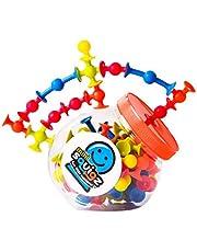Fat Brain Toys FBT-2088 Mini Squigz Building Kit