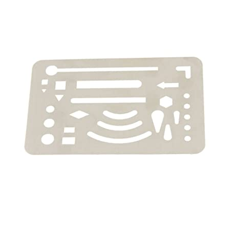 amazon com loghot stainless steel drawing drafting template