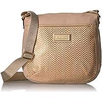 Calvin Klein Raffia Messenger Bag (Intimate)