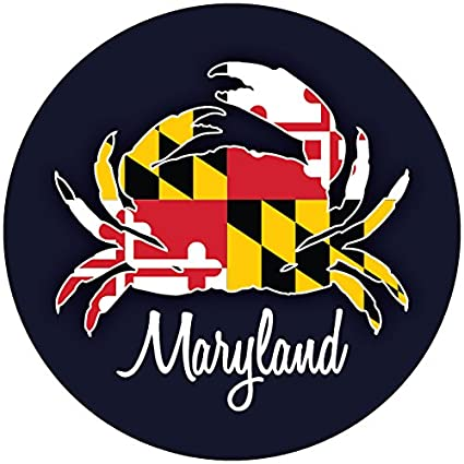 Amazon com: R and R Imports Maryland Crab Flag Baltimore