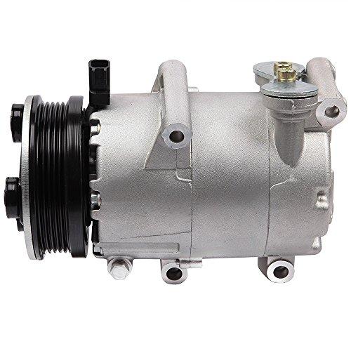 (ECCPP A/C Compressor w/Cluth (CV6Z19703J) fits Ford Focus 2.0L - 97323 2013-2014)