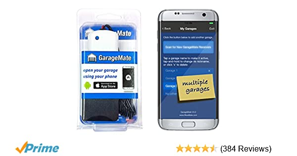 Garagemate Open Your Garage With Your Iphone Or Android Easy Setup