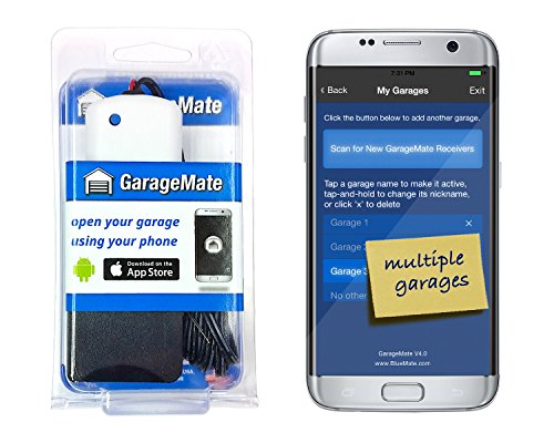 GarageMate: Open your garage with your iPhone or Android. Easy setup. Secure. Bluetooth4.0