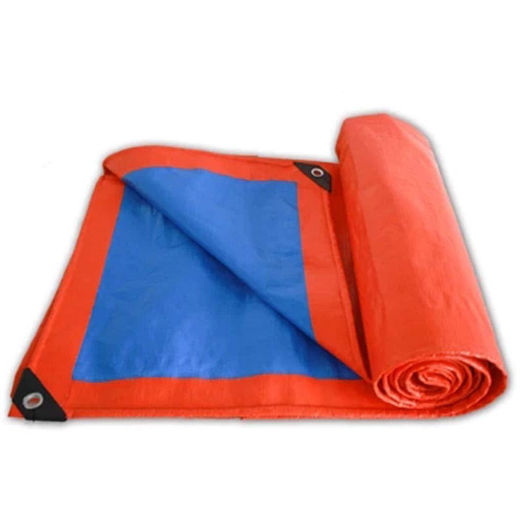 bleu Orange 35m BÂches Camping BÂche BÂche Auvent Tapis de Prougeection Tente Empreinte Hamac Tapis De Sol Canopée Soleil Pluie Mouche Abri Ombre Couverture Tapis Imperméable Heavy Duty