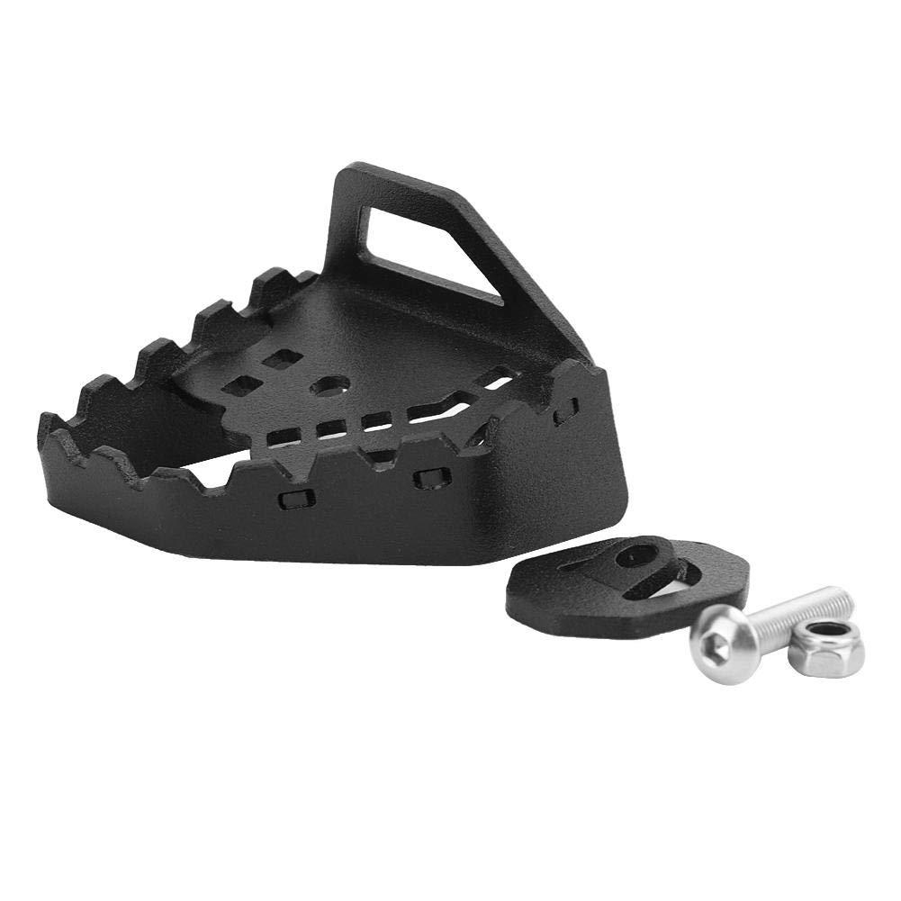 #1 Aramox Palanca de freno trasero Pedal de ampliaci/ón Palanca de freno Agrandar placa