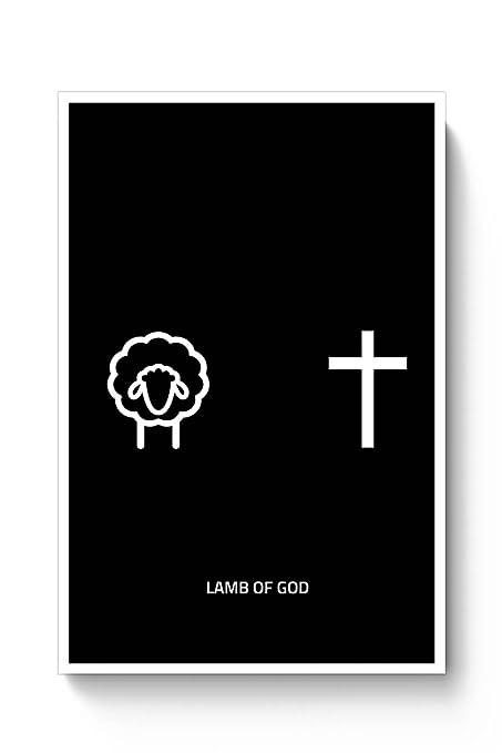 Posterguy Poster Lamb Of God Music Minimalism Minimal Music