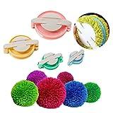 Dofover Pompom Maker for Fluff Ball DIY Weaver