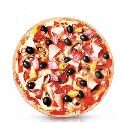 suntapower 14 x 2inch Creative Pizza almohada cojín sofá ...