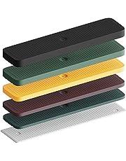 INNONEXXT® Premium beglazingsblokken | 24 x 100 mm, 600 stuks | Made in Germany | Onderlegplaten, afstandhouders, afstandhouders van kunststof, afstandhouders | in set: 1, 2, 3, 4, 5, 6 mm