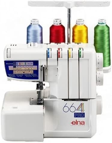 Elna 664 PRO Overlocker by Elna: Amazon.es: Hogar