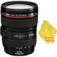Canon 24-105mm L Lens + MEGAACC Microfiber Cloth