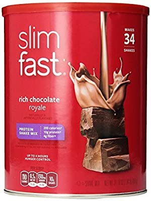 Slim Fast Rich Chocolate Royale Shake Mix Powder, from Slim-Fast