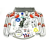 turbo upgrade kit - Universal Turbocharged Upgrade T04E T3 11pc Turbo Kit