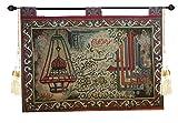 Egypt gift shops Surat Al Fatih Noble Mosque Quran Woven Gobelin Jacquard tapestry wall hanging Islamic Arabic Calligraphy Alphabet