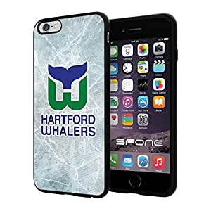 """Hartford Whalers Ice #1995 iPhone 6 Plus (5.5"""") I6+ Case Protection Scratch Proof Soft Case Cover Protector by runtopwell"""